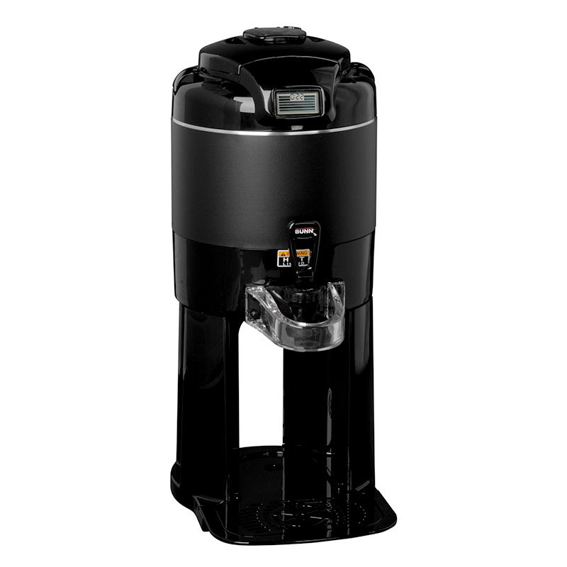 Bunn TF-1G-BLK Coffee Server, Digital Sight Gauge w/ Base, 4-hr Timer, Black (42700.0001)