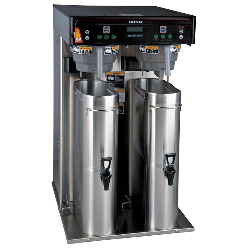 Bunn ITCB HV TWIN Twin Tea Coffee Brewer w/ 5.5 Gallon Tank & Digital Control, 120-240v/1ph (43100.0000)