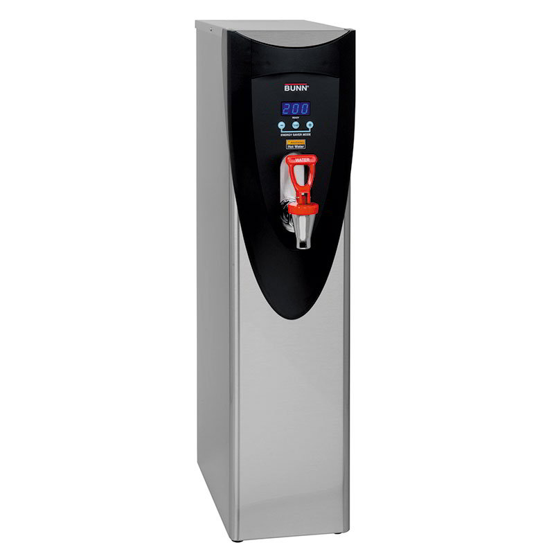 Bunn 43600.0002 5-gal Hot Water Dispenser - Digital Thermostat, 212-F Setting, LED Display
