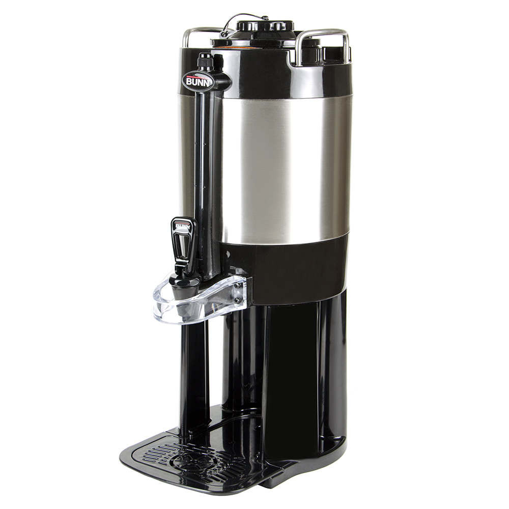 Bunn TF-1.5-MECH-0000 1.5-gal Portable Server w/ Base for Single/Double ThermoFresh Brewers, Stainless (44050.0000)