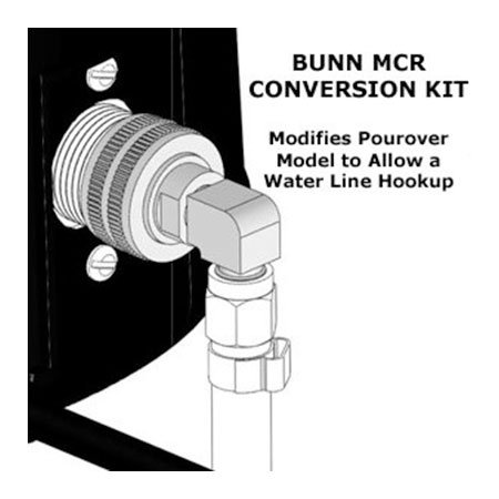 Bunn 49565.0000 Pourover to Plumb-In Conversion Kit (49565.0000)