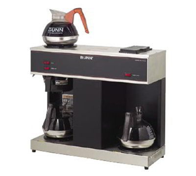 BUNN-O-Matic 04275.0031 Pourover Coffee Brewer w/ 3.9-gal/hr & 2-Lower 1-Upper Warme