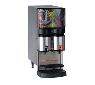Bunn-o-matic 36500.0031 Liquid Coffee Dispenser w/ 2-Heads & Portion Control, Ratio up to 45-to 1