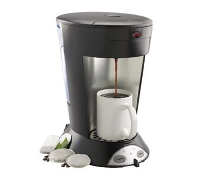 Bunn 35400.0004 High Altitude Pourover Pod Brewer w/ 60-cup/hr, Thermostat, 2-Pod Holders, Black