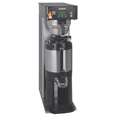 Bunn-o-matic 36600.0014 Single Coffee Brewer w/ 3-Brew Buttons, 2-Programmable Full Half Batch Switches
