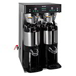 Bunn-o-matic 37600.0010 Coffee Brewer w/ 18.9-gal/hr Capacity 3-Brew Button 2-Batch Switches Side Faucet