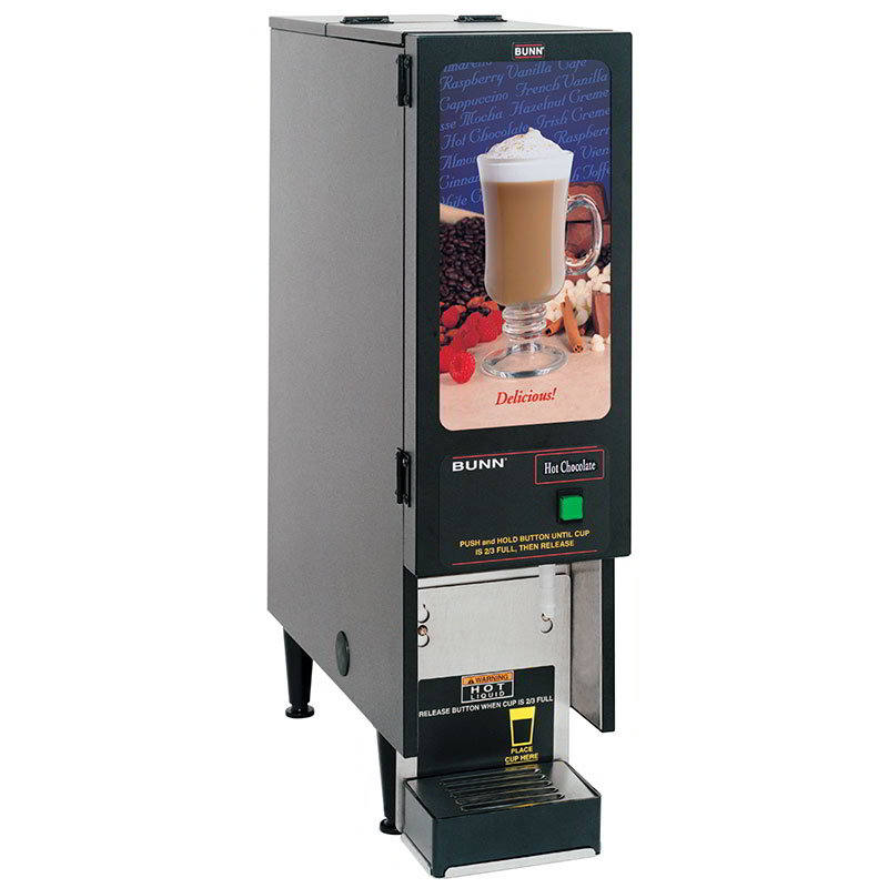 Bunn-o-matic SET00.0196 FMD-1 BLK Hot Powdered Drink Machine, Standard Display