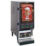 Bunn SET00.0197 FMD-3 BLK Hot Powdered Drink Machine, 3 Hoppers, Cafe Display, Blk