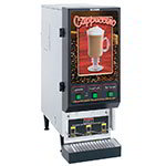 Bunn FMD-3-SS-0198 FMD-3 S/S Hot Powdered Drink Machine, 3 Hoppers, Cafe Display, S/S (SET00.0198)