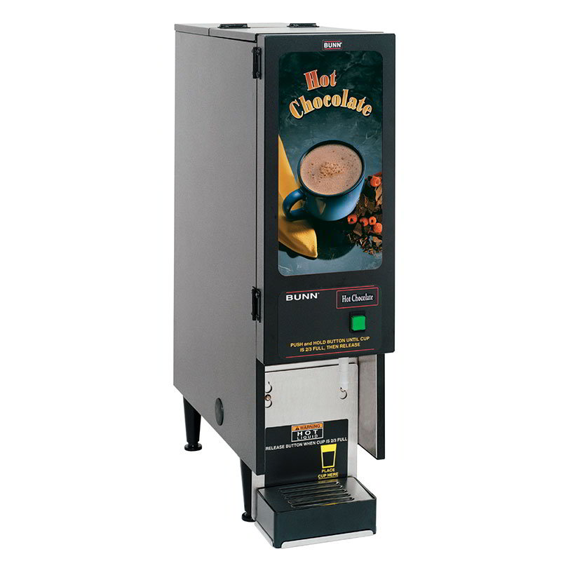 Bunn FMD-1-0203 FMD-1 BLK Hot Powdered Drink Machine, Hot Chocolate Display (SET00.0203)