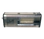Berner PHB3001NG 30.5-in Overhead Mount Patio Heater, Aluminum, NG