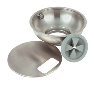 "InSinkErator 15A BOWL ASY 15"" A-Type Bowl Assembly w/ Splash Baffle, Nozzle & Bowl Cover"