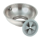 "InSinkErator 12C BOWL ASY 12"" C-Type Bowl Assembly w/ Splash Baffle & Nozzle"