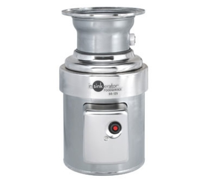 InSinkErator S-125-15C-CC101 2301 Disposer Package w/ 15-in Bowl & CC101 Panel, 1-1/4-HP, 230/1 V