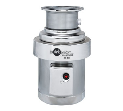 Insinkerator SS-150-18C-MRS 115 Disposer Pack, 18-in Bowl, Manual Reverse Switch, 1.5-HP, 115/1 V
