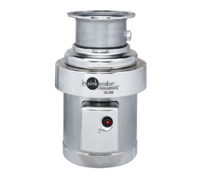 InSinkErator SS-200-6-AS101 2081 Disposer Package w/ #6-Adapter & AS101 Panel, 2-HP, 208/1 V