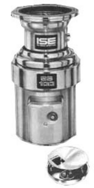 Insinkerator SS-100-12A-MS Complete Disposer Package, 1 HP, 12in Diameter Bowl, 115V/1PH