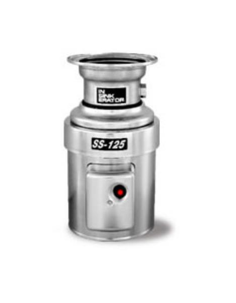 Insinkerator SS-125-5-MS Complete Disposer Pkg, Sink Mount, 1 1/4 HP, #5 Adaptor, 115V/1PH