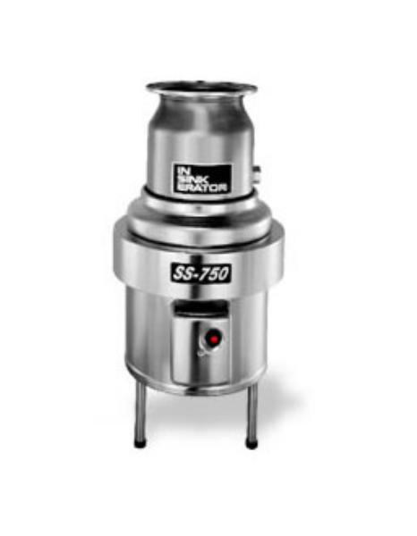 Insinkerator SS-750 Disposer, Basic Unit Only, 7-1/2 HP, S/S, 208V/3