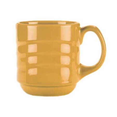 Syracuse China 903033888 12-oz Cantina Mug - Glazed, Saffron
