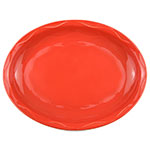 Syracuse China 903034001 Oval Platter, Cantina Carved Pattern & Shape, Flint, 13.62x10.62-in, Cayenne