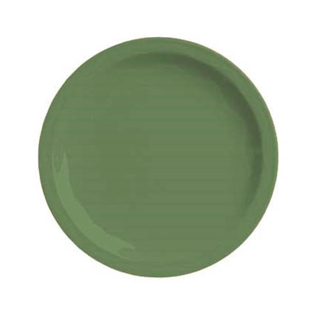 Syracuse China 903035009 Plate w/ Cantina Carved Pattern & Shape, Flint Body, 6.25-in, Sage