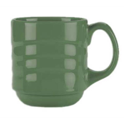 Syracuse China 903035888 12-oz Cantina Mug - Glazed, Sage