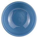 Syracuse China 903043003 18.37-oz Oatmeal Bowl w/ Rolled Edge & Cantina Shape, Flint Body, Blueberry