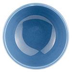 Syracuse China 903043005 8-oz Bouillon w/ Cantina Uncarved Pattern, Republic Shape, Flint, Blueberry