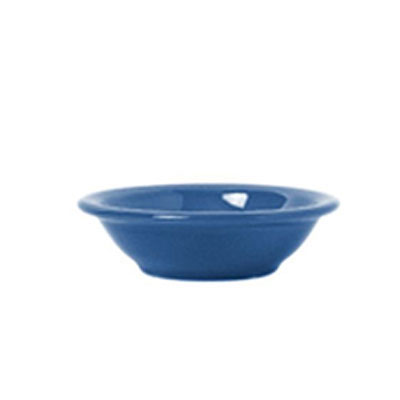 Syracuse China 903043172 4.62-oz Fruit Dish w/ Cantina Uncarved Pattern & Morwel Shape, Flint, Blueberry