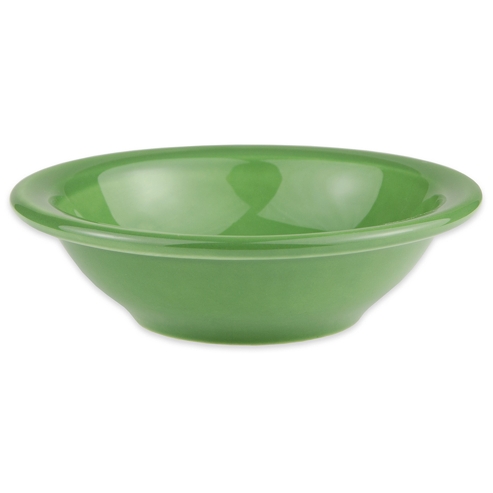 Syracuse China 903046172 4.62-oz Fruit Dish w/ Tapas Pattern & Morwel Shape, Flint Body, Sage