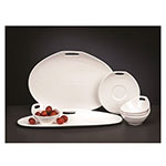 Syracuse China 905356122 7.5-oz Cup - Slenda Practica, White