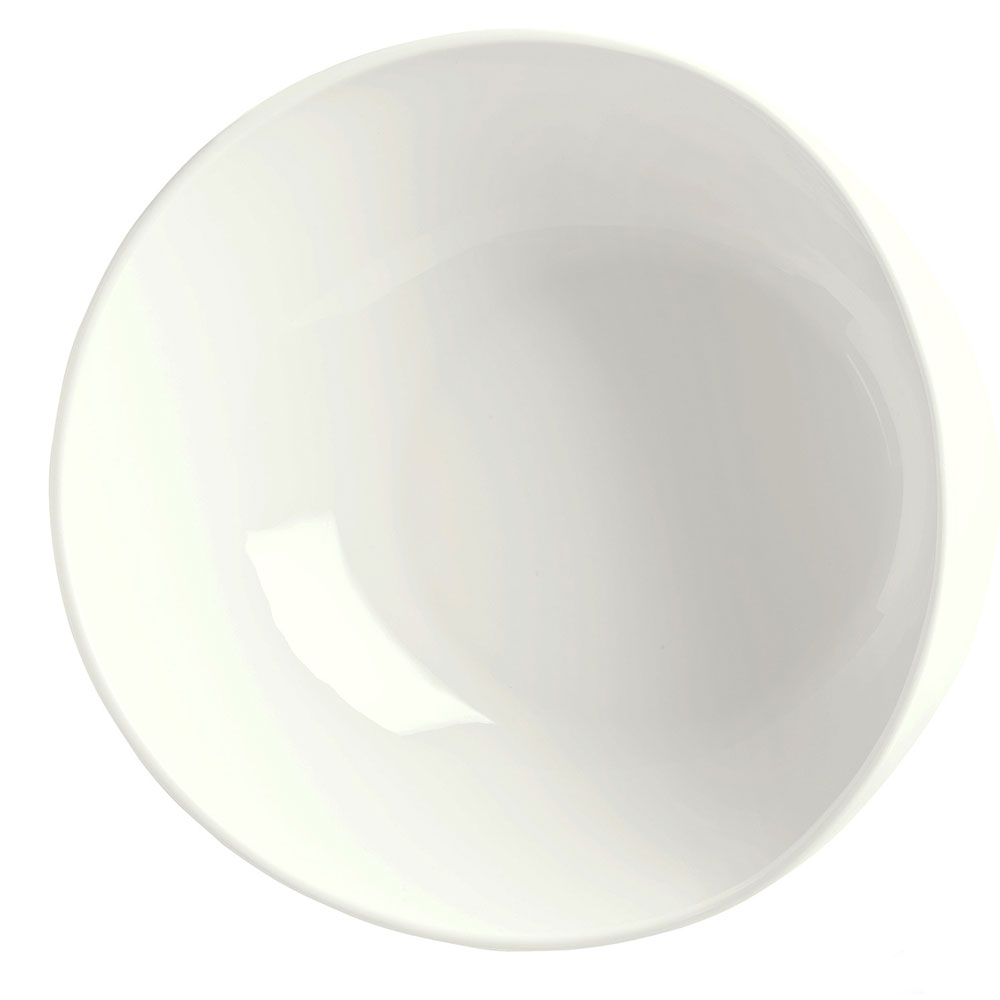 Syracuse China 905356414 22-oz Slenda Verve Round Bowl - Royal Rideau