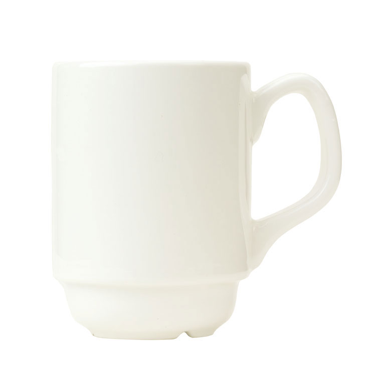 Syracuse China 905356508 8-oz Stacking Mug w/ Slenda Shape