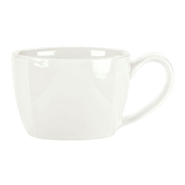 Syracuse China 905356509 2-3/4-oz Royal Rideau Espresso Cup - Low Profile, White