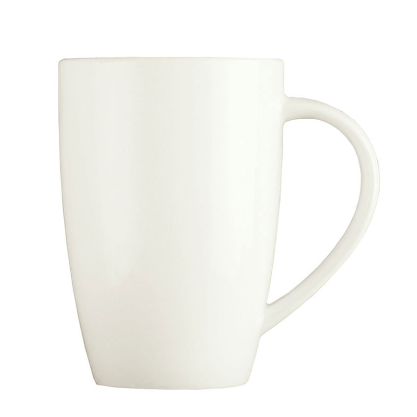 Syracuse China 905356512 9-oz Mug w/ Slenda Pattern & Shape, Royal Rideau Body
