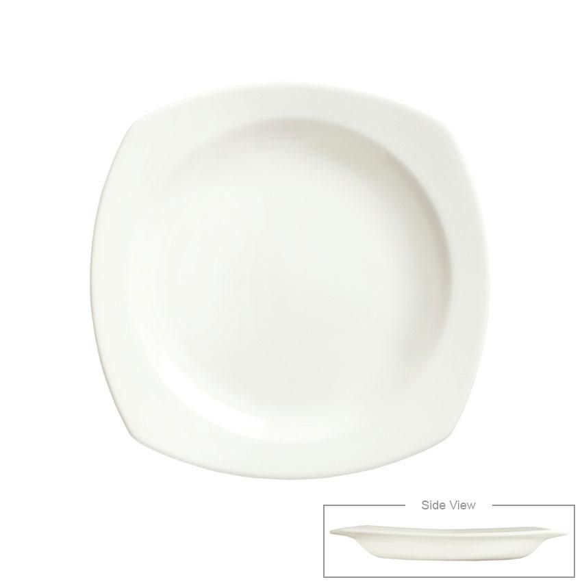 "Syracuse China 905356896 11.5"" Square All Purpose Bowl w/ Slenda Pattern & Shape, Royal Rideau Body"