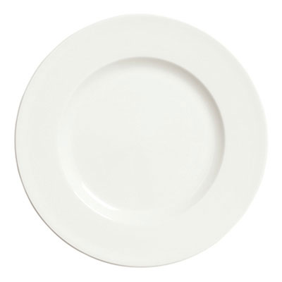 "Syracuse China 905356902 12.25"" Plate, Coupe, Slenda Pattern & Shape, Royal Rideau Body"
