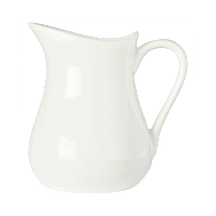Syracuse China 905356906 6-oz Royal Rideau Creamer - Glazed, Loop Handle, White