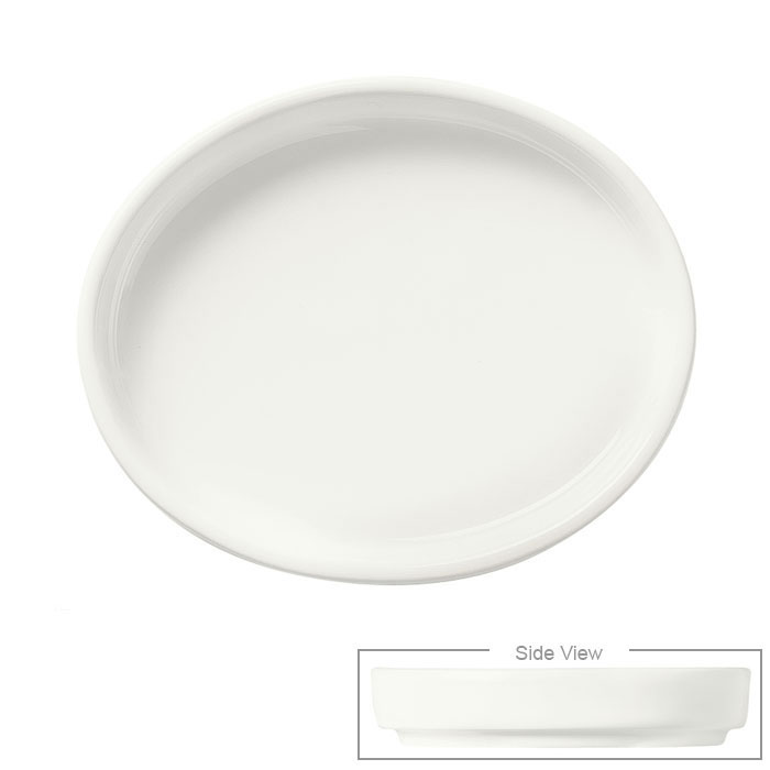 Syracuse China 905356916 1-1/2-oz Royal Rideau Sauce/Dip Bowl - Glazed, White