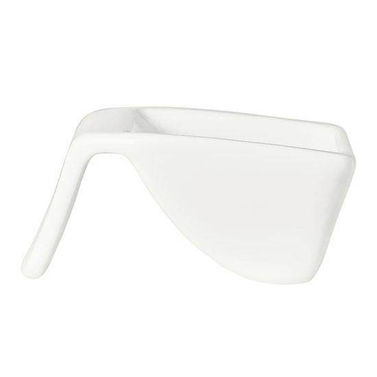 Syracuse China 905356918 2-oz Royal Rideau Hanging Bowl - Glazed, White
