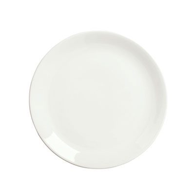 "Syracuse China 905356954 12"" Plate, Coupe, Slenda Pattern & Shape, Royal Rideau Body"