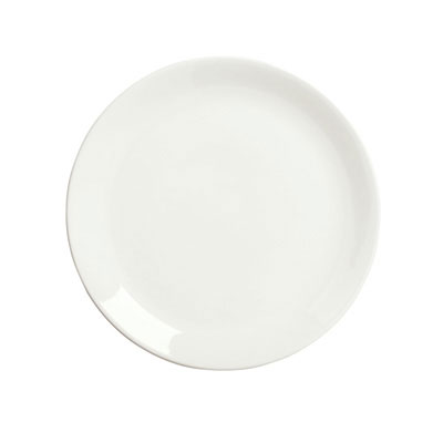 "Syracuse China 905356964 7.37"" Plate, Coupe, Slenda Pattern & Shape, Royal Rideau Body"