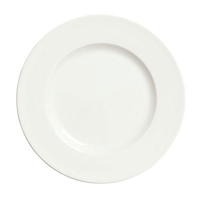"Syracuse China 905356969 9.88"" Plate w/ Slenda Pattern & Shape, Royal Rideau Body"