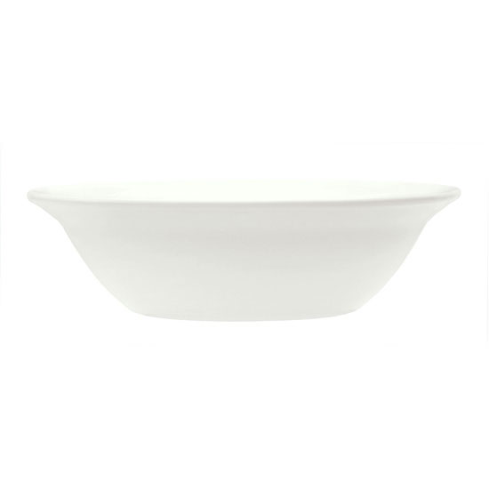 Syracuse China 905437882 11-oz Grapefruit Bowl, Elan Pattern & Medium Rim, Flat, Royal Rideau Body