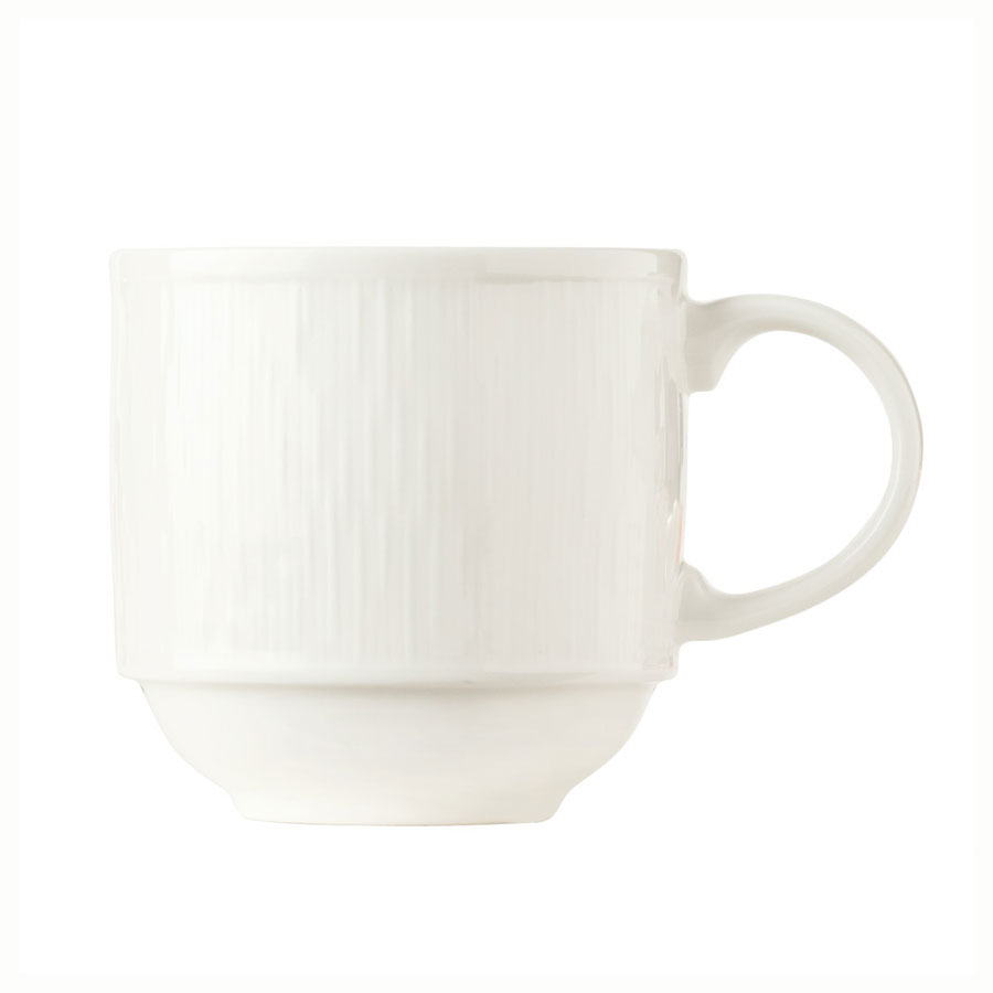 Syracuse China 909089712 12.5-oz Mug, Fully Vitrified, w/ Under ring & Royal Rideau Body, Glazed