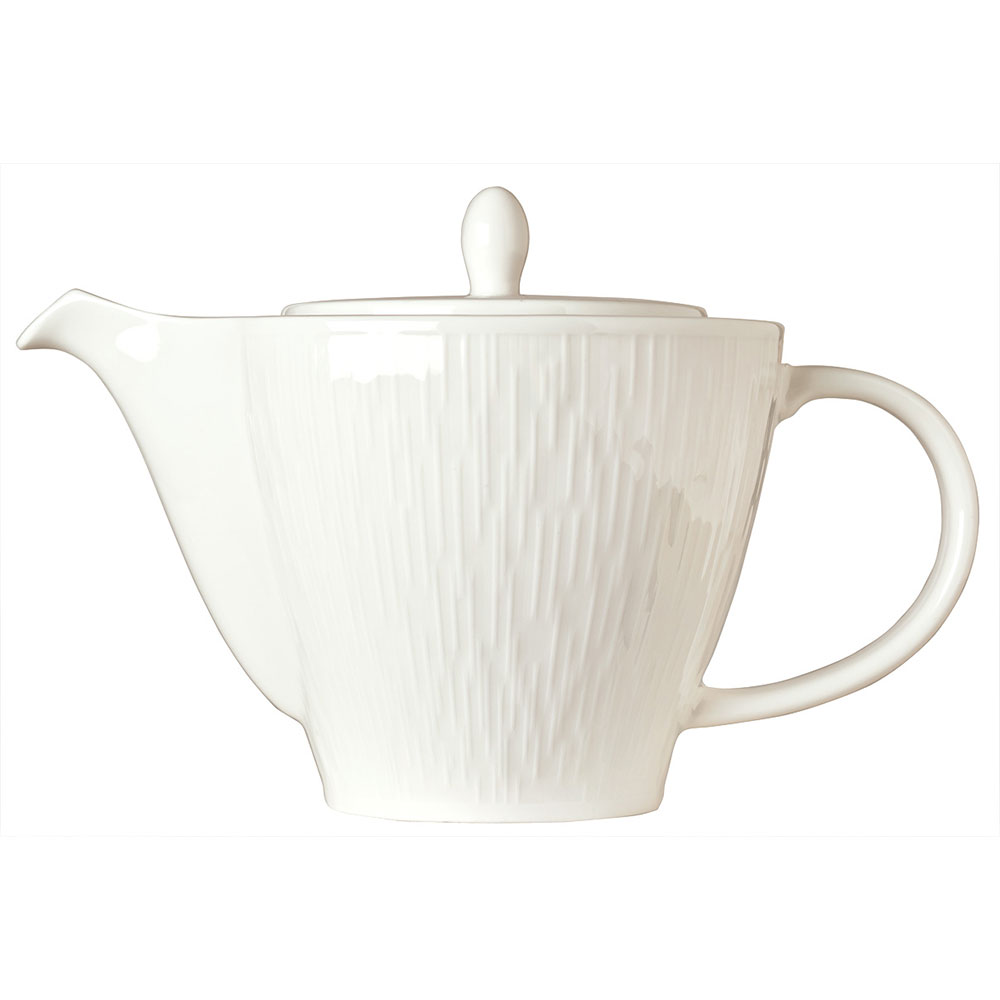 Syracuse China 909089726 15-oz Royal Rideau Tea Pot - Lid, Glazed, White