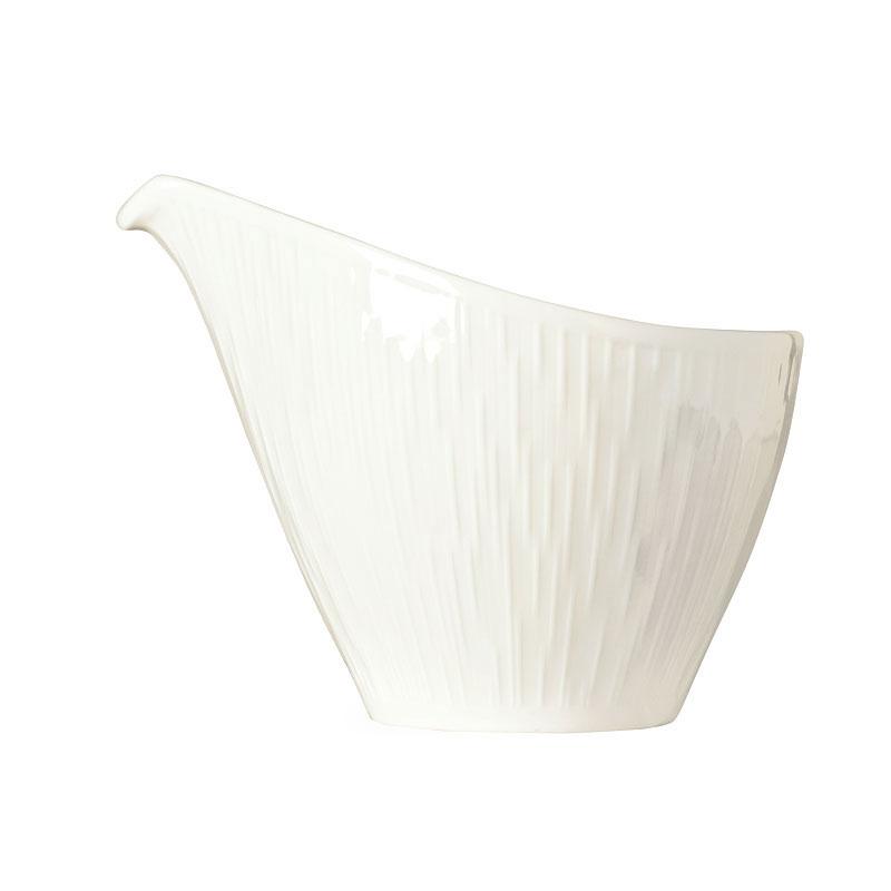 Syracuse China 909089728 6-oz Solario Creamer - Glazed, Handle, White