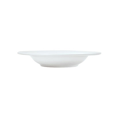 Syracuse China 911194007 13.5-oz Bowl, Rim Deep w/ Reflections Pattern & Shape, Alumawhite Body