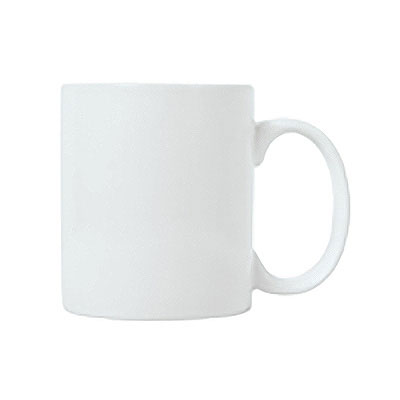 Syracuse China 911194025 13-oz Mug w/ Reflections Pattern & Shape, Alumawhite Body